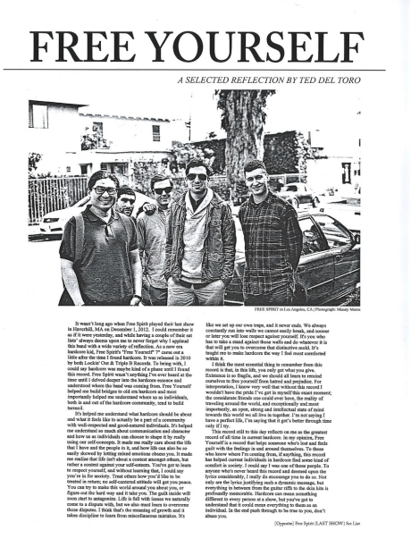 freespirit01 edgegazer fanzine
