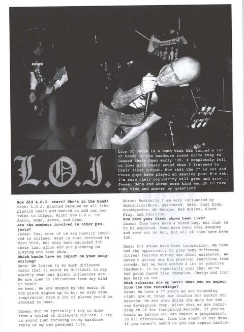 loj01 thingswesay fanzine