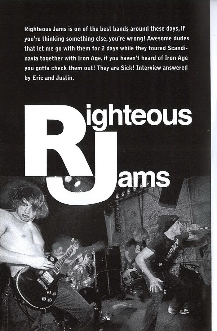 righteousjams01 learn to listen fanzine