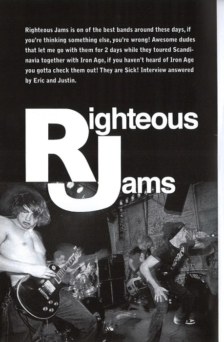 righteousjams01 learn to listen fanzine