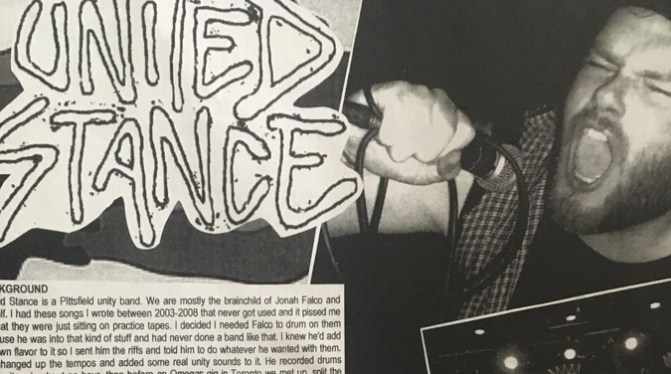 United Stance review by Moshers Delight fanzine
