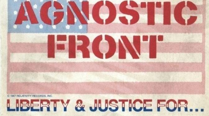 Agnostic Front – Kerrang! December 19, 1987