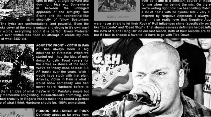 Shining Life fanzine – Swiz, Ecostrike, Protester, Contention fanzine, Hardware fanzine