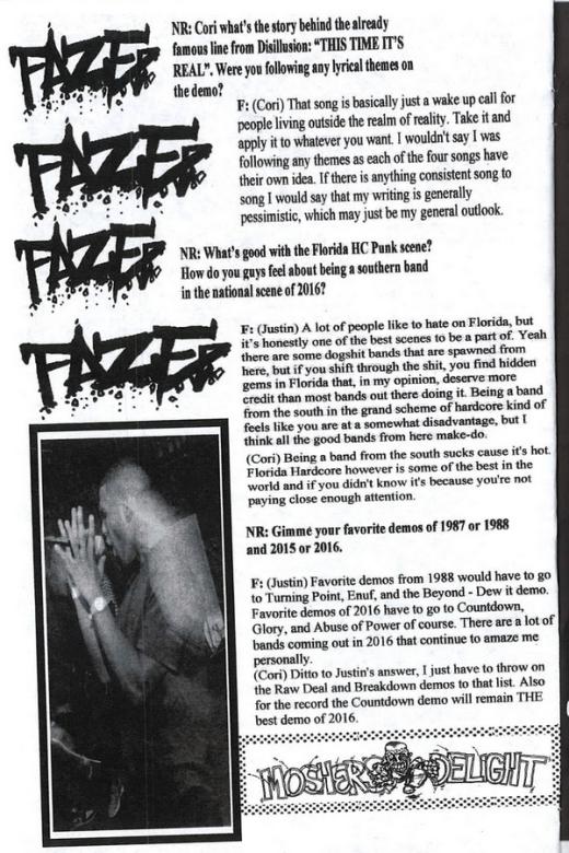 faze02 no rules fanzine