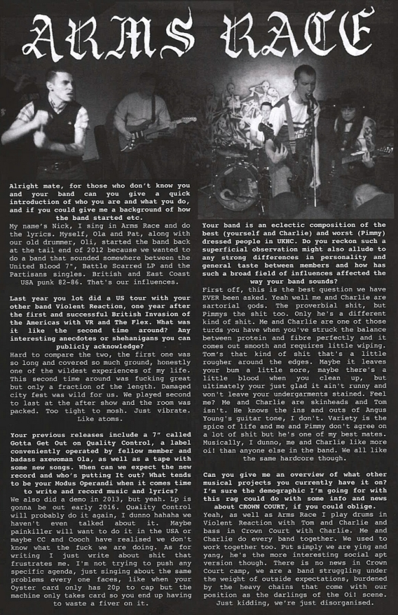 armsrace01 classecriminelle fanzine 1