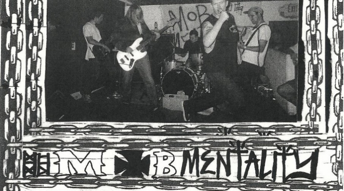 Mob Mentality interview by Milkshake fanzine