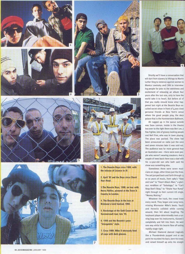beastieboys76 Juice magazine, Number 7 1999