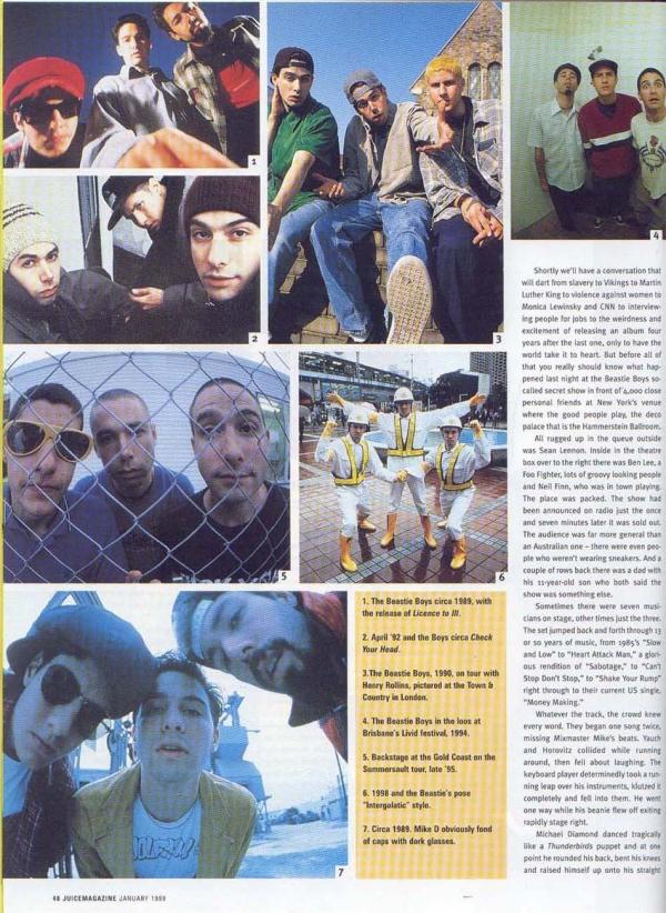 beastieboys76 Juice magazine, Number 7 1999