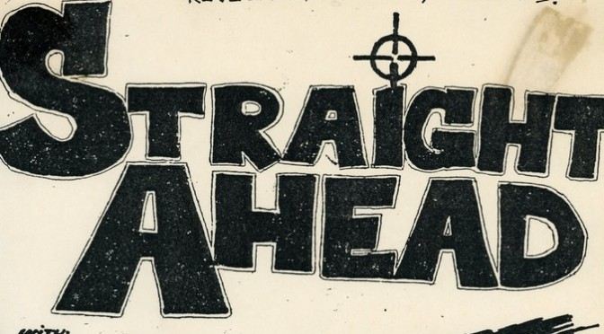 Straight Ahead interview by Confuzed fanzine