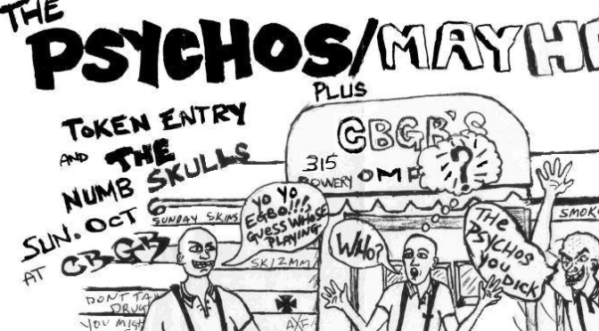 The Psychos interview