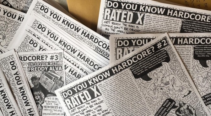 Do You Know Hardcore? fanzine (issue 2 & issue 3)
