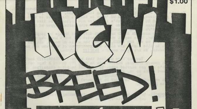 New Breed fanzine