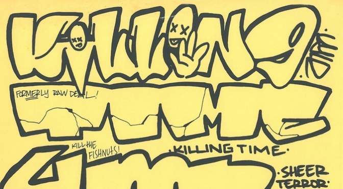 Killing Time interview by Not For The Weak fanzine