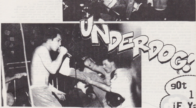 Underdog interview by HCPP fanzine