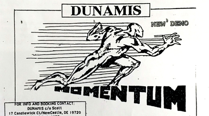 """Dunamis """"Momentum"""" / Axtion Packed Records"""