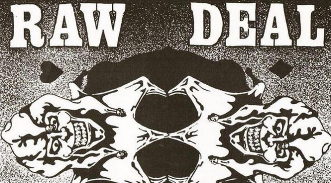 Raw Deal interview by Boiling Point fanzine